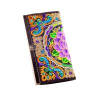 ethnic colorful butterfly silk metal close eadge coin purse clutch girls purse Manufactures