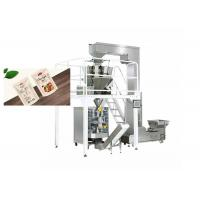 Electric Driven Type Cashew Nuts Raw Packing Machine  Speed 20-100 Bags / Min