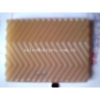 High tensile Anti-slip wave pattern rubber sheets for shoe soles / boot sole