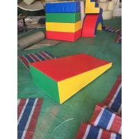 Easy Install Baby Soft Play Equipment Indoor Anti Crack For 2-4 Years Olds Kids Manufactures