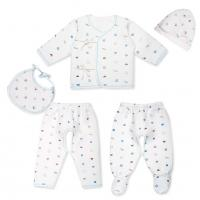 china high quality 5pcs rompers for baby 100 cotton wholesale