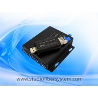 4Port USB3.0 over dual or single SM/MM fiber to 250m for industrial printer/remote storage/TV wall/CCTV system Manufactures