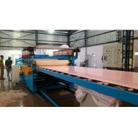 China 1-30mm Thickness WPC Board Production Line Double Screw Wood Plastic Composite Extruder on sale