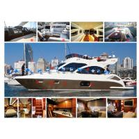 China Gel Coat Or Paint Fiberglass Fishing Boats High Intensity And Tenacity on sale