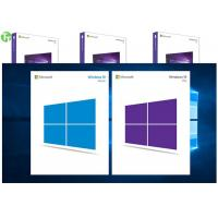 Windows 10 Product Key COA License Sticker Windows 10 Professional Retail Box Manufactures