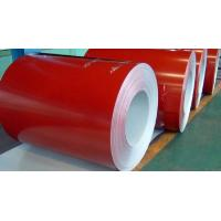 High Flexibility Custom Color Coated Coils For Roofing / Sign Boards Manufactures