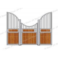 China European Style Horse Stall Fronts Hot Dip Galvanized With Swing Feeder on sale
