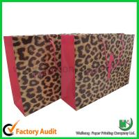 Hot sales paper shopping bag Manufactures