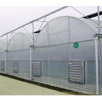 Heat Preservation Dome Style Greenhouse , Plastic Film Greenhouse With Cooling System Manufactures