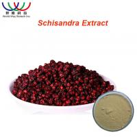 China Safe Herbal Pure Herbal Extracts Schisandra Extract Light Yellow Powder on sale