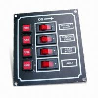 4-gang Switch Panel, Suitable for Installation of Marine Electrical Systems Manufactures