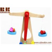 2018 New Wooden Early Educational Intelligence Balance Scales Wood Toy for Kids Manufactures