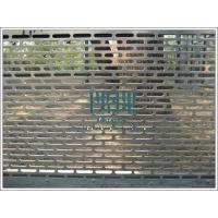 Professional factory export Perforated metal security fence,decorative fencing for sale