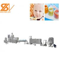 Twin Screw Nutritional Powder Machine Popular Snacks Making Machine Manufactures