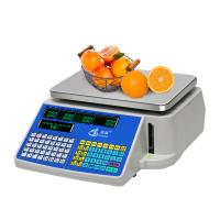 Supermarket Electronic Barcode Weighing Scales With RS232 Interface Manufactures