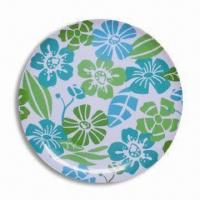 Melamine 11-inch Round Plate, Customized Colors, Design, and Sizes are Accepted Manufactures
