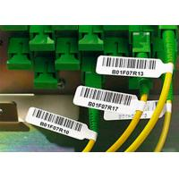 Strong Adhesive Plastic Cable Labels Vinyl Cable Tags With Electric Wire Label Manufactures