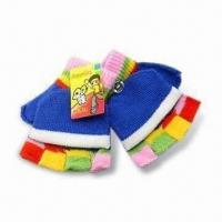Gloves, Made of 100% Cotton, Customized Designs are Accepted, Suitable for Children Manufactures