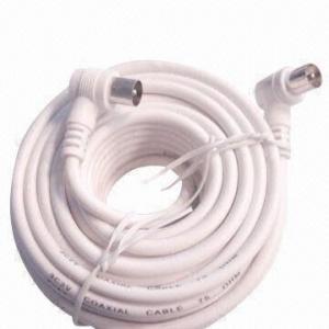 China TV Cable with Angle Plug on sale