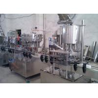 Automatic Zip - Top Cans Glass Bottle Washing Machine For Food Industry Manufactures