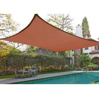 Rectangle Sand Sun Shade Patio Cover , Outdoor Shade Sails 10' X 13' 185GSM Manufactures