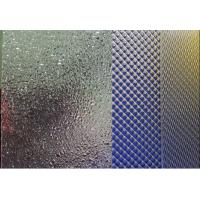 Prismatic Embossed Patterned Extruded Acrylic Sheet , Lightweight And Fabricated Manufactures