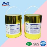 Faint Yellow UV LED Silk Screen Varnish , LED UV Matte Finish Varnish Low Odour Manufactures