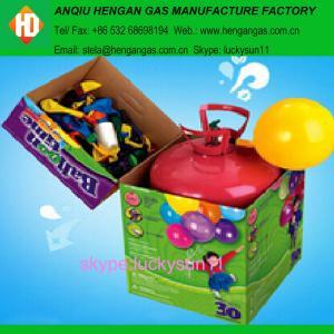 China Helium tank helium gas on sale