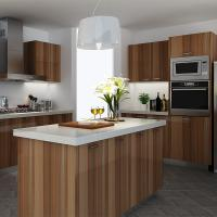 Commercial Plywood Painting Melamine Kitchen Cabinets