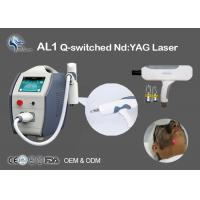 China Tattoo Removal Q-Switched Nd Yag Laser Machine 532nm 1064nm Non Surgical on sale