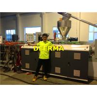 PVC Foam Board Making Machine Crust / Skinning Plastic Sheet Extrusion Line Manufactures