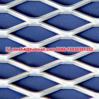 Smooth diamond hole expanded metal Manufactures