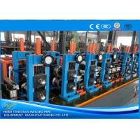 Adjusted ERW Tube Mill Production Line Energy Saving Blue Color HG32 Manufactures