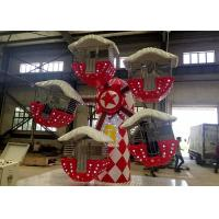 Christmas Topic Ferris Wheel Kiddie Ride , Mini Amusement Park Rides Games Manufactures