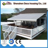 Super Quality Patio arm retractable awning/Motorized Full cassette awning Manufactures