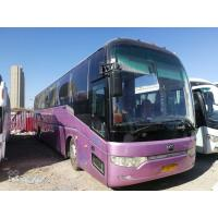 2010 Year 53 Seats Used Motor Coaches , Used Commercial Bus For Traveling Manufactures
