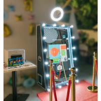 China Wholesale wedding rental photobooth machine magic mirror photo booth on sale