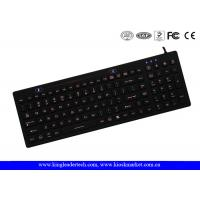 China IP68 Backlit Silicone Keyboard With On / Off Switch Function Keys on sale