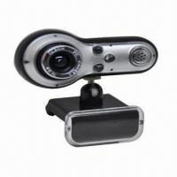 China Web Camera for Desktops and Laptops, PC Camera with Snap Shot Button, USB2.0 Port on sale