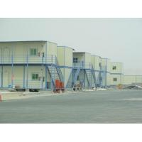 China Eco Modern Prefab Steel Houses , Structural Steel Multi Storey Residential Building on sale