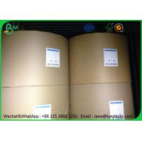 Thick Printing Paper For Book Printing , Woodfree Uncoated High Quality Bond Paper Manufactures