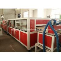 Low Noise Pvc Wall Panel Machine Adjustable Traction Speed Quick Cutting Performance Manufactures
