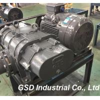 High Pressure Three Lobe Roots Style Blower Low Noise For Waste Water Treatment Plants