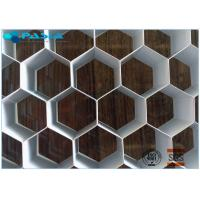12mm Height Aluminum Honeycomb Core Board For Audio Industry Flat Panel Manufactures