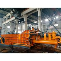 Motor Powerd Scrap Baler Machine , Scrap Baling Machine High Density Double Master Cylinder Manufactures