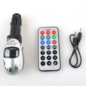 China Car MP3 Player Foldable FM Transmitter for USB/SD/MMC/Slot on sale