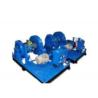 Lightweight Wire Rope Hydraulic Electric Anchor Winch For Lifting Manufactures