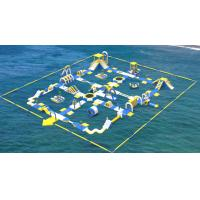 Giant Inflatable Water Toys Game / Inflatable Outdoor Water Theme Park Manufacturer Manufactures