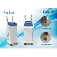 China Fractional RF Microneedle Machine for face lifting and acne scarring treating on sale