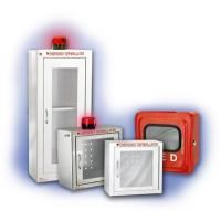 Wireless AED First Aid Wall Cabinet Customized Color With Alarm System Manufactures
